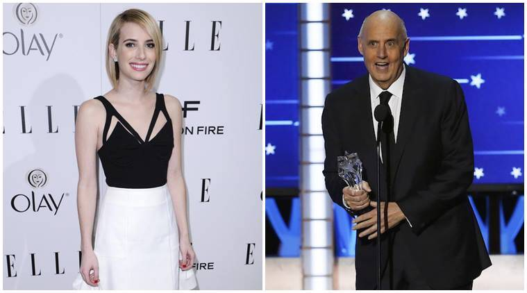 Emma Roberts, Jeffrey Tambor, Four seasons, Emma Roberts in four seasons, Jeffrey Tambor in four seasons, Entertainment, indian express, indian express news