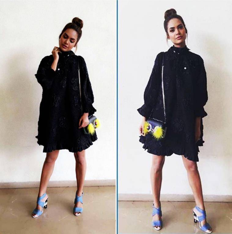 Esha Gupta in Fendi. (Source: Instagram/Esha Gupta)