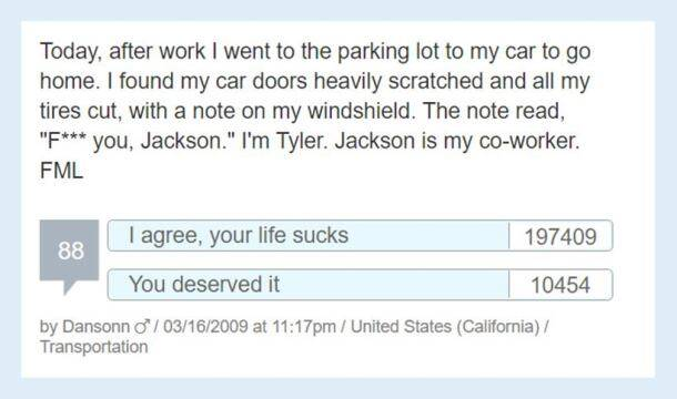 21 'F**k My Life' moments people shared on the Internet that are too funny to be true
