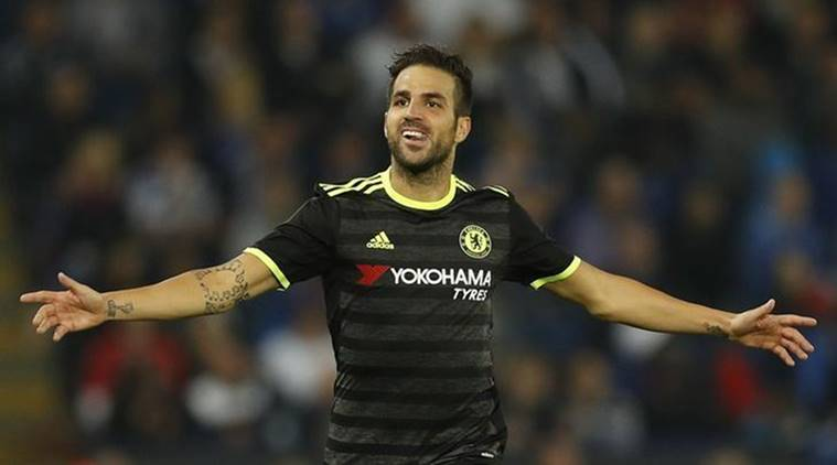 Cesc Fabregas, fabregas, fabregas goals, Leicester City, chealsea, Norwich, Arsenal, english premier league, EPL, football, football news, sports, sports news