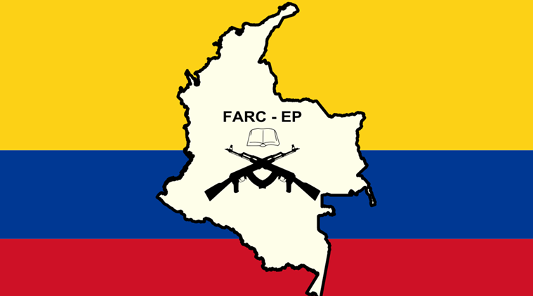 colombia, farc colombia, colombia peace, world news, indian express,