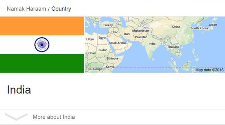 Google namak haraam country and indian flag will show and heres namak haraam country namak haraam country twitter namak haraam country india namak haraam gumiabroncs Image collections