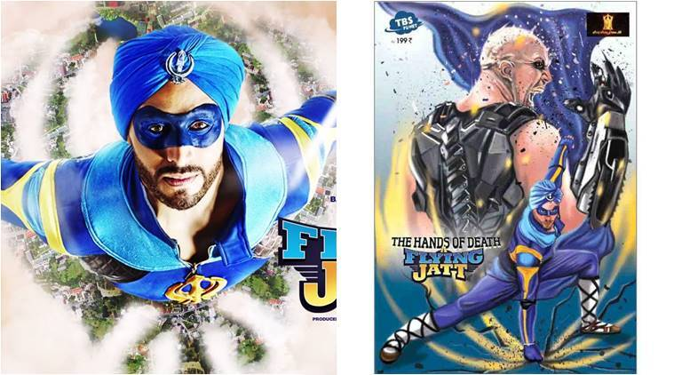 indian superheroes, flying jatt, ved, Thought Bubbles Studio Planet, TBS planet, Remo D'Souza, tiger shroff, Rajeev Tamhankar, comics books in india