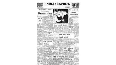india, china, india china, india china relations, chen chao yuan, illegal immigrants, uae, barauni power station, barauni power station shut, unsc, securiity council, indian express editorial, edit, indian express forty years ago, india news