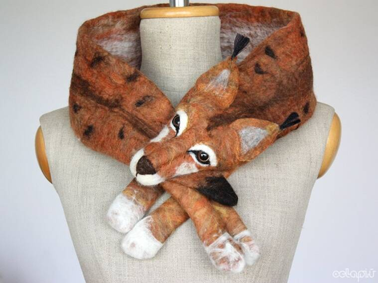 fashion, fashion design, scarf, scarves, designer stole, designer scarf, celapiu, animal head scarf, fashion trend, fashion accessories, poland, polish designers scarfs, celapiu scarfs, fashion news, latest news