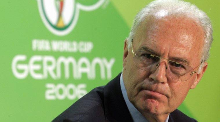 Football great Beckenbauer paid $8.5 million for 2006 World Cup work
