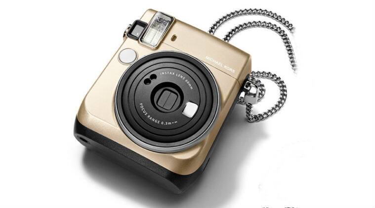 Fujifilm, fujifilm instax mini 70, michael kors, michael kors camera, instax mini 70 features, instax mini selfie, instant camera, camera, technology news, indian express