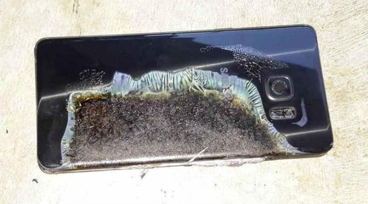 Samsung, Samsung Galaxy Note 7, Galaxy note 7 overheating, Galaxy note 7 recall, Galaxy note7, Galaxy note 7 explosion, galaxy note 7 fire, galaxy note 7 issues, smartphone, technology, technology news, indian express
