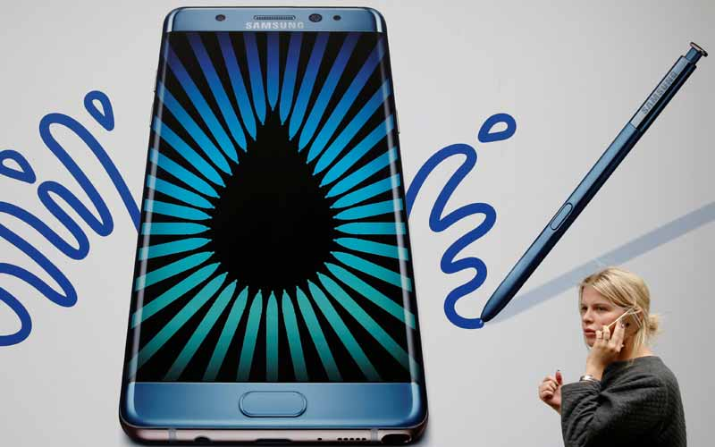 Samsung, Samsung Galaxy Note7, Galaxy Note7, Galaxy Note 7 battery indicator, Galaxy Note 7 green colour battery, Samsung Galaxy Note7 issue, Samsung Galaxy Note7 recall, Samsung Galaxy Note7 recalled in US, Samsung Galaxy Note7 official recall