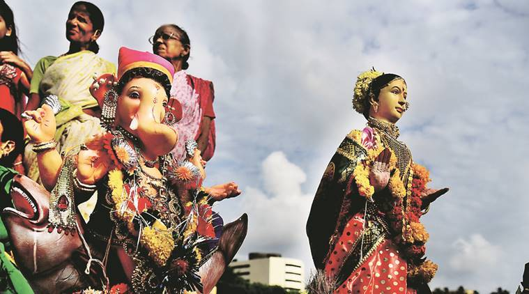 Ganesh Puja, ganesh festival, ganesh mandals, ganesh chathurthi, Shree Sarvajanik Ganeshotsav Sanstha, ganesh puja traditions, Ganesh puja sculptors, eco friendly idols, mumbai news, India news, indian express news
