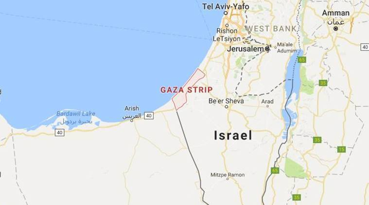 man killed in gaza strip, palestine civil war, gaza-israel border, gaza-israel war, palestinian killed in gaza, man killed in gaza, world news, indian express,
