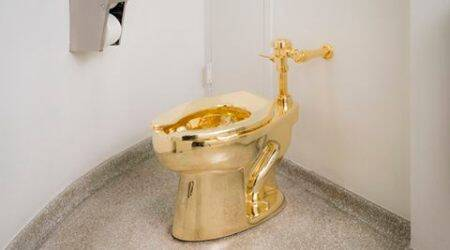 gold, gold toilet, new york, Guggenheim Museum, Guggenheim Museum gold toilet, Maurizio Cattelan, Maurizio Cattelan gold toilet, gold toilets in the world, world most expensive toilet, latest news, odd news, viral news, lifestyle news, latest news