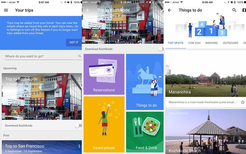 Google Trips app launched: How to take your trips offline