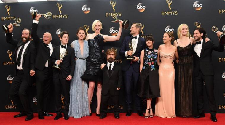 game of thrones, GoT, emmy awards, game of thrones emmy, got emmy awards, got best drama series, game of thrones wins 12 emmys, got at emmy, game of thrones emmy, 68th emmy awards, television awards, indian express, indian express news