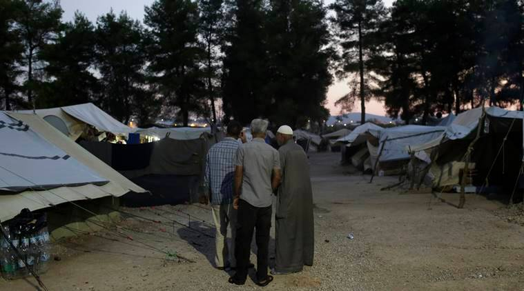 Greek camp fire, camp fire, Greece migrants, migrant camp fire, migrant camp fire greece, news, latest news, Greece news, international news, world news
