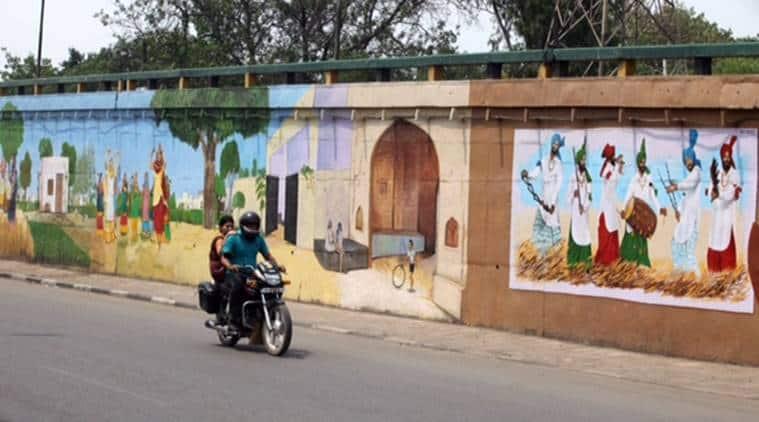 graffiti, ludhiana graffiti, wall graffiti, street art, ludhiana street art, kala galli, kala galli ludhiana, ludhiana art, ludhiana landscape