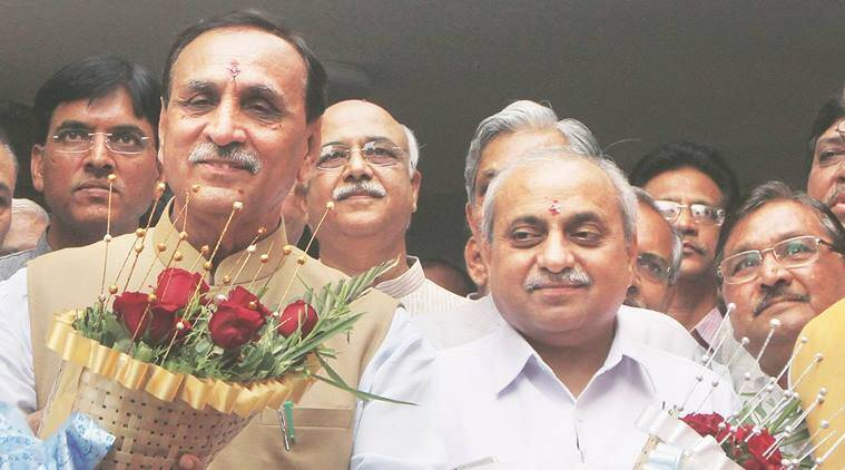 Gujarat Assembly polls, Gujarat Assembly elections, Gujarat elections, Nitin Patel, Gujarat government, indian express news