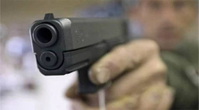 student shoots teacher, madhya pradesh, mp student shoots teacher, student scolded for uniform, students kills teacher, student murders teacher, indian express news, india news