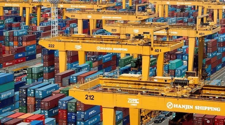 Hanjin, Hanjin shipping, Hanjin Shipping Co, Ltd, Hanjin bankruptcy, Hanjin ship, Hanjin vessel, bankruptcy, ship held hostage, shipping news, Korea, US-bound ship, Hanjin news, business news, companies news, latest news, Indian express