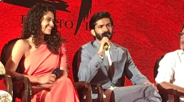 Mirzya, Mirzya movie, Mirzya cast, Rakyesh omprakash mehra, Rakeysh omprakash mehra Mirzya, Harshvardhan Kapoor, Saiyami kher, Harshvardhan Kapoor in Mirzya, Saiyami Kher in Mirzya, Harshvardhan Saiyami, Mirzya music launch, Entertainment, indian express, indian express news