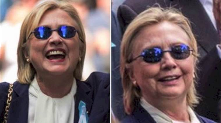 Some on social media believe Hillary Clinton has a body double whom she used the day she fell ill