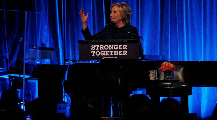 hillary clinton, hillary clinton on donald trump, hillary clinton vs donald trump, us elections, us elections 2016, us elections latest update, world news, indian express,