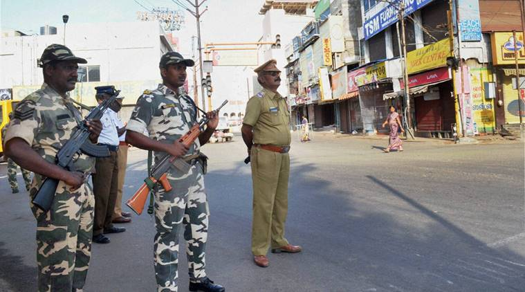 Coimbatore communal tension, communal tension tamil nadu, communal tension, Hindu Munnani hacked to death, Hindu munnani, hindu muslim riots, bandh coimbatore, death, communal crimes, India news