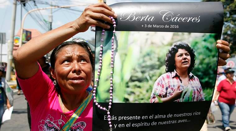 Honduras, environmentalist killing, environmental activist, Berta Caceres, case files theft, Honduras news, latest news, Indian express