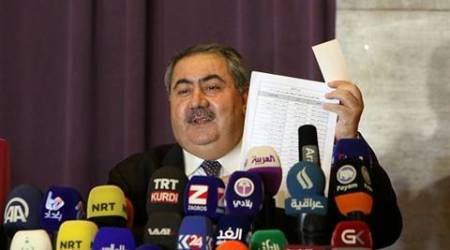 Hoshiyar Zebari, Hoshiyar zebari iraq, sacked finance minister hoshiyar zebari, iraqi finance minister sacked hurts prospects of bailout, iraq economy, iraq news, world news, indian express