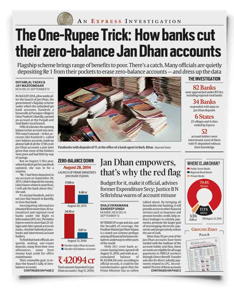 zero balance, bank zero balance, jan dhan accounts, bank jan dhan account, erase zero balance accounts, punjab and sind bank, zero balance account, open zero balance account, how to open bank account, indian express investigation, syndicate bank, banking, banking and finance, indian express news, business, banking news