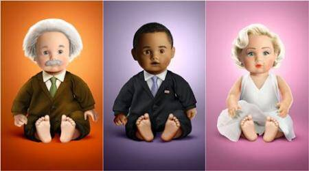 From Albert Einstein to Dalai Lama: This Italian artiste creates dolls to inspire and educate kids