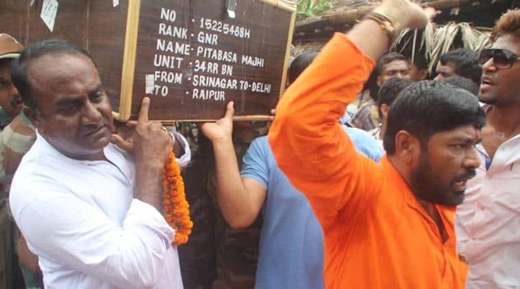 Uri attack, Pitabas Majhi,Naveen Patnaik,Rashtriya Rifles, Uri attack victim, Uri attack martyr, news, latest news, India news, national news