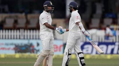 India vs New Zealand: New Zealand subdue India show with late wickets on Day 1