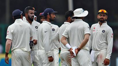 India vs New Zealand: Visitors reign before rain on Day 2