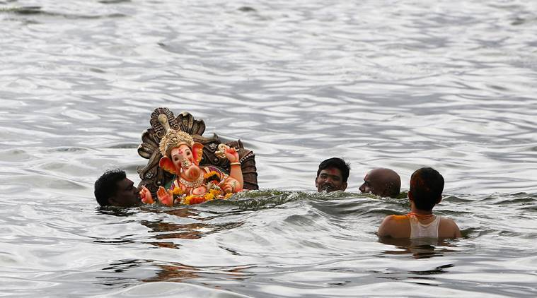 Coast Guard, Indian Coast Guard, Ganesh Chaturthi, Ganesh immesion Mumbai, Mumbai Ganesh immersion, Ganesh immersion, news, Mumabi news, latest news, national news, India news
