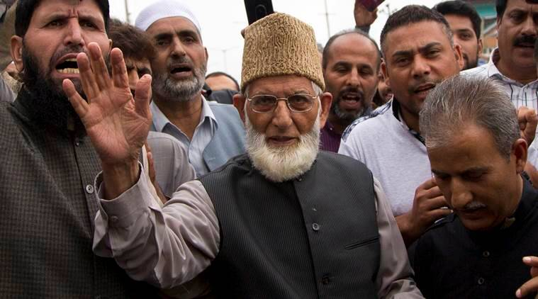 Syed Ali Shah Geelani, NIA investigaition against Geelani, NIA investigation against Geelani news, Hafiz Saeed, Naeem Khan, Farooq Ahmed Dar, Gazi Javed Baba, Tehreek-e-Hurriyat, National Investigation Agency, India news, national news
