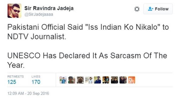 A NDTV journalist was asked to leave the press conference organised by Pakistan