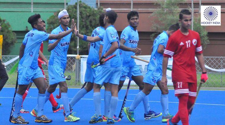 hockey, india hockey, india u 18 hockey, india u 18 asia cup, u 18 asia hockey cup, india u 18 hockey, india vs oman, hockey news, sports news