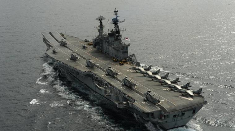 Photo for INS Viraat by Press Information Bureau