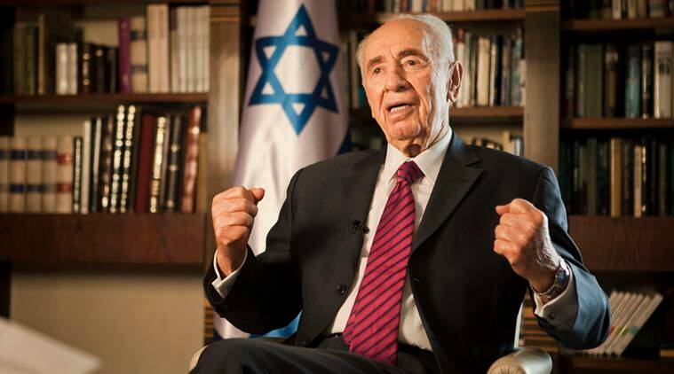 Israel president Shimon peres, shimon peres health, israel shimon peres, world news, indian express,