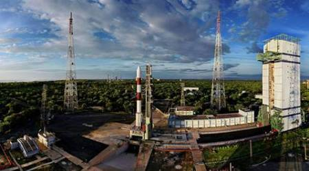 Sriharikota: Indian Space Research Organisation's PSLV-C35 ready to be launch on Saturday with SCATSAT-1 and seven other satellites from Sriharikota on Monday. PTI Photo/ISRO(PTI9_24_2016_000099a) *** Local Caption ***