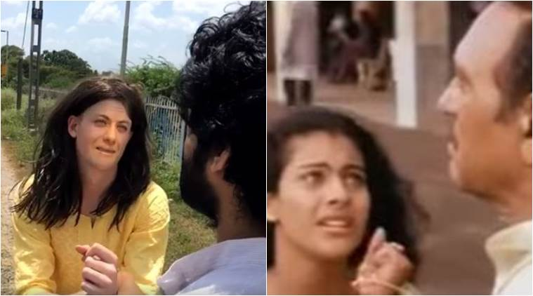 DDLJ's iconic scene remade into this hilarious video