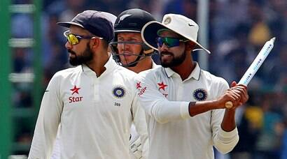 Photos: India clinch victory over New Zealand in 500th Test match