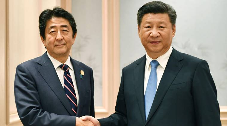 china japan, china japan relations, china-japan, shinzo abe, xi jinping, abe-xi, g20 summit, Hangzhou, china japan g20, world news