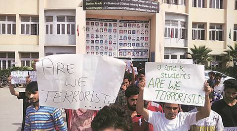 One student seriously injured: Ruckus in Jhajjar college after Valley student called 'terrorist'