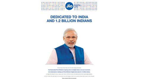 Telecom Minister Manoj Sinha  rejects criticism of PM Narendra Modi's image in Jio ads - The Indian Express