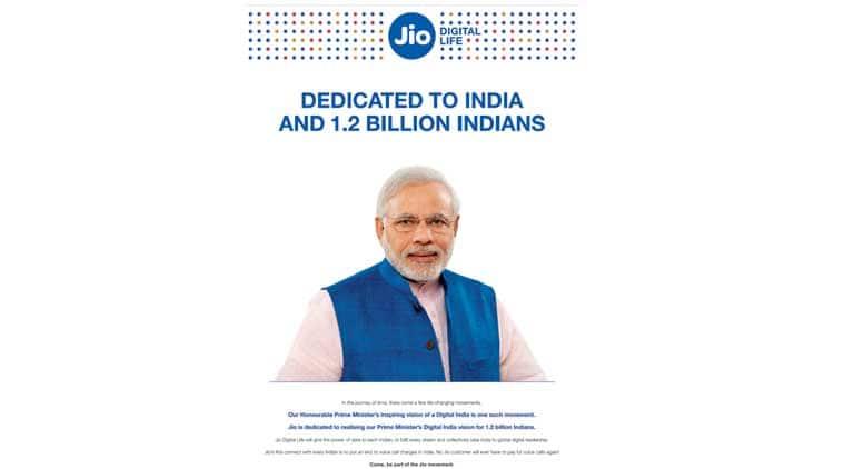 Reliance Jio, JIo, Jio ad, Jio Modi ad, Modi Jio ad, reliance Jio ad modi, Reliance jio modi ad, arvind kejriwal, kejriwal, congress, bjp, india news