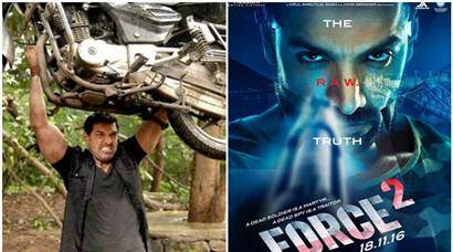 For Force 2, John Abraham has lifted a car weighing 1580 kg. See pics