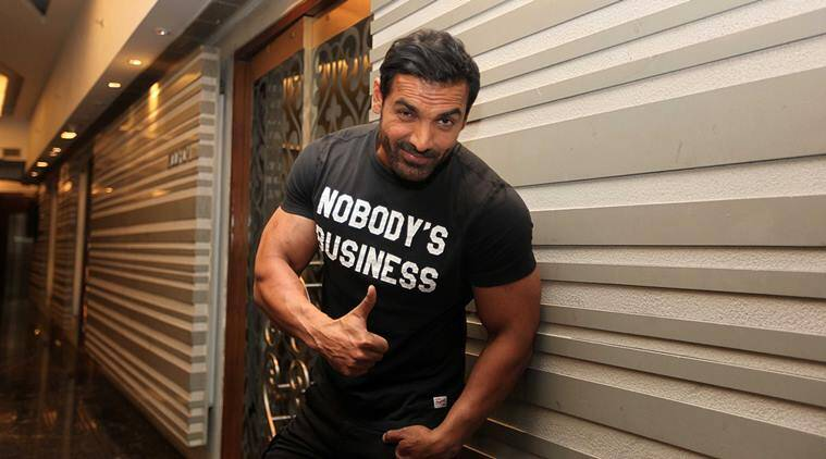 Actor John Abraham in Panchkula