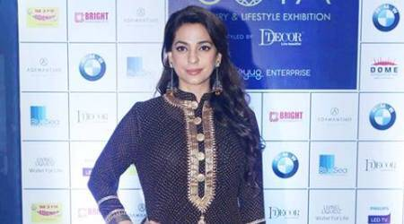 Juhi Chawla remembers her mother: I have shed lot of tears off-screen